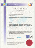 CE Certificate for 20 Bar PVC Hose