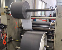 Double-sided adhesive tape machine
