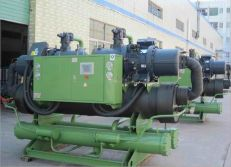 No.3 Water Screw Cooled Chiller Production Line