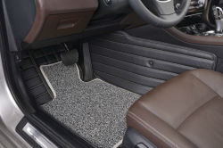 PVC 3D Leather +Cashmere Car Mat
