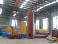oil tanks and dedust system for pyrolysis machinery