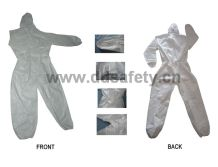 Coverall waist with elastic-DNC411