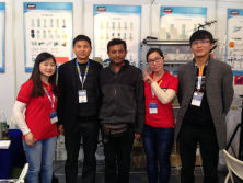 customers visit our company booth on CCBN