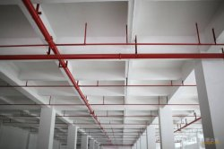 Red Painted Steel Pipe for fire system