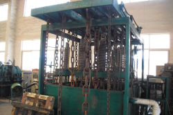 Medium frequency quenching Machine