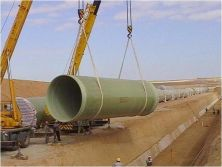 FRP Pipe for Waste water