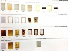 Melamine Door Panel&Special Lacquer &PVC& Solid Wood Door Panel&Stainless Steel Laminate