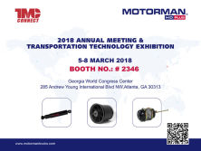 2018 ANNUAL MEETING & TRANSPORTATION TECHNOLOGY EXHIBITION
