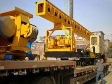 Greatly Congratulate Hanfa Group HFL20 Screw Piling Rig Exported to Brunei on 22th Dec.2017.
