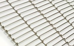flat flex wire mesh belt