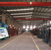 automatic block machine processing line workshop