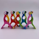 parrot beach towel clips
