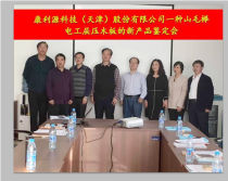 New Product Appraisal Meeting of a Beech Electrical Laminated Wood Board