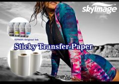 What Is Sticky Sublimation Paper? When Should We Use It?
