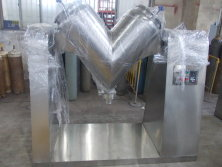 Stainless steel V shape powder mixer