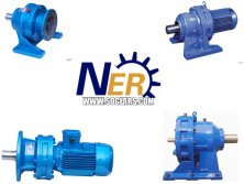 cycloidal gearbox with rolling elements