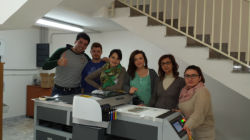 Italian customers feedback from Italy about A2 UV printer
