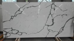 Calacatta 5137 quartz slab solid surface