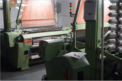 woven label machine