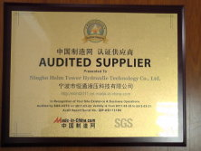 SGS- Audited Supplier