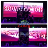 P7.62 indoor slim LED screen for stage background, conference, shows