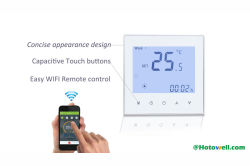 Smart WiFi thermostat