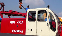 Our crawler crane will going to Indonesia