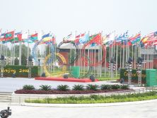 The Cooperation With Peking Government Flag Pole Project - 01