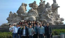 Company staff travelled to Shandong Penglai city