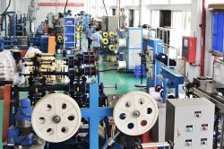 DYS fiber optic cable production lines
