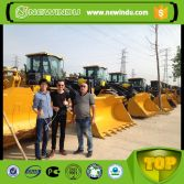 Georgia Customer visited factory for xcmg wheel loader