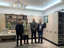 Welcome Italy Customer visiting Happy Room factory