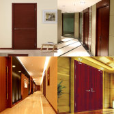 hotel engineering door interior wooden door room door fire rated wooden door