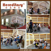 Hereditary Stair,at 16th CBD Fair--offer you the best decoration visual effects