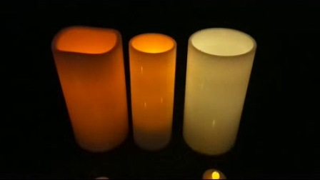 outdoor candle lighting. Simple Lighting Outdoor Waterproof Plastic Garden Using Flickering 5D12h Big Candle  Lighting With Timer With I