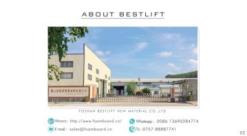 FOSHAN BESTLIFT NEW MATERIAL CO., LTD.