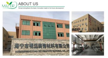 Haining Mingyuan Decorative Materials Co., Ltd.