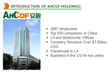 AHCOF INTERNATIONAL DEVELOPMENT CO., LTD.