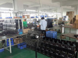 workshop of assembling machine