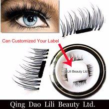 201a97e6a4f Customized label Magnetic Eyelash Wholesale Lashes Magnetic Strips Lash