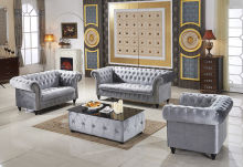 Nice Chesterfield Fabric Sofa Set (L. A01) Awesome Ideas