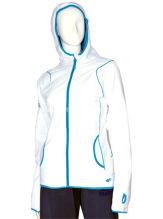 Newest Women White Sport Micro Fleece Hoodies