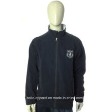 Custom Outdoor Windproof Men Polar Fleece Jacket