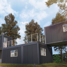 prefab house for office - Shandong Wiskind Steel Building