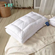 Five Star Hotel Professional Pillow Supplier 100 Cotton Fabric Microfiber Filling