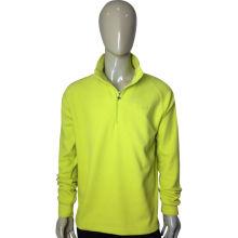 Customied Warm Men′s Zip up Polar Fleece Sweatshirt