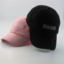 35df75324bb High Quality Custom Embroidery Suede Dad Cap Hot Selling Suede Dad Hat  Fashion Baseball Cap Hats