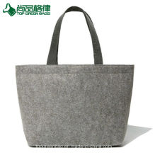 Popular Felt Tote Bags Custom Logo Fashion Lady Felt Shopper Bag 21b14f85e3