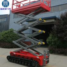 Tracked crawler scissor lift - Jinan Quentin Machinery Co