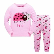 Little Baby Clothing Pajama 100% Cotton Giraffe Children Sleepwear